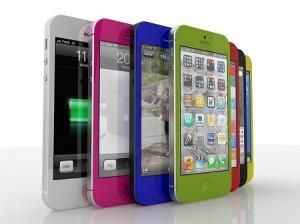 Apple Iphone будет выпускаться в разных цветах