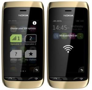 Nokia Asha 310 – сенсорный телефон с поддержкой двух SIM карт и Wi-Fi модулем