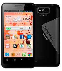 Highscreen Alpha GT: быстрый смартфон с IPS-экраном от Sharp и двумя «симками»