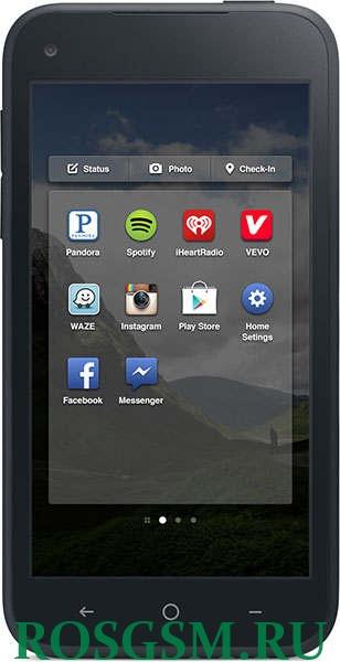 Facebook представила собственный смартфон и лаунчер для Android