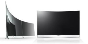 LG: OLED-телевизор с изогнутым экраном