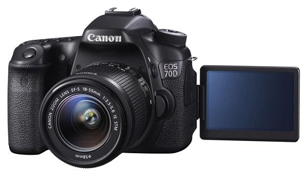 Компания Canon представила ЕOS 70D