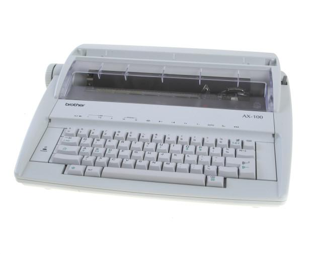 Последняя пишущая печатная машинка