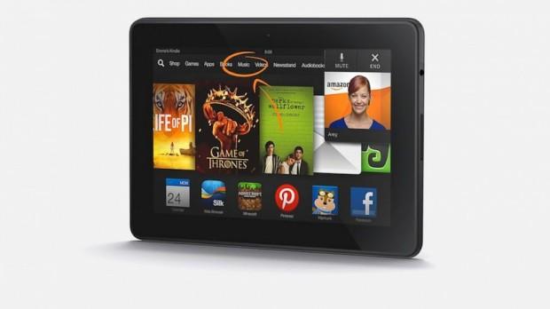 Amazon выпускает новые планшеты Kindle Fire HDX