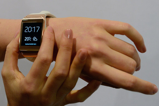 Samsung представила смарт-часы Galaxy Gear