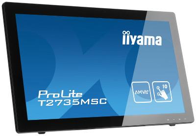 Сенсорный монитор iiyama T2735MSC-B1 появился в России