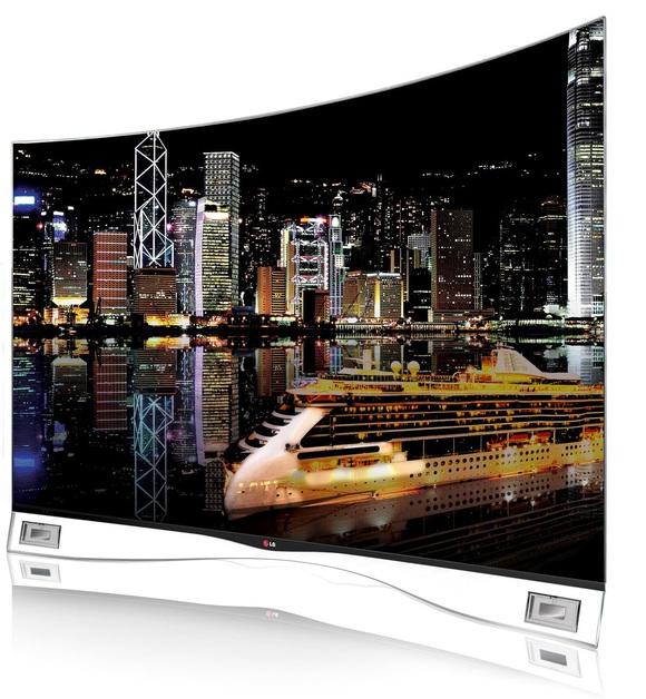 OLED-телевизор с изогнутым экраном поступил в Россию