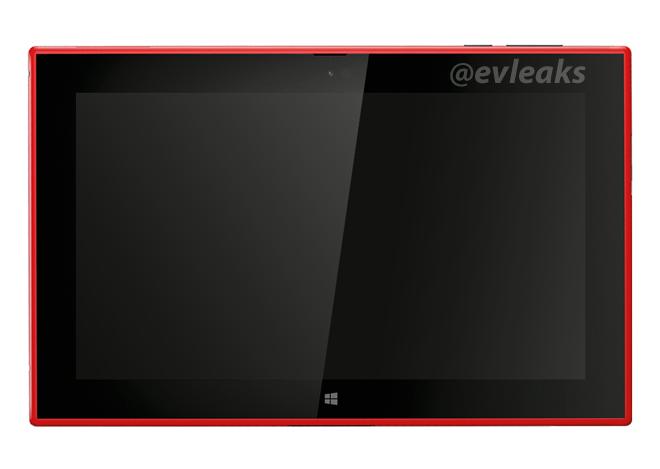 Неофициальное изображение планшета Nokia Lumia 2520