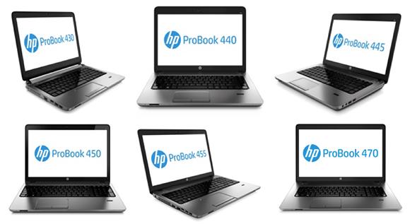 HP представляет ноутбуки серии ProBook 400