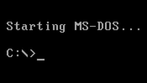 Исходный код MS-DOS доступен для скачивания