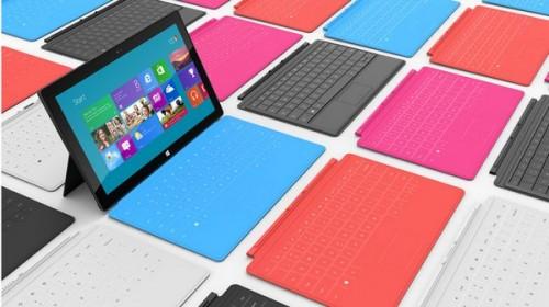 Microsoft намерена поставить 25 млн планшетов в 2014 году