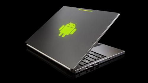 Первый ноутбук на Android уже на подходе