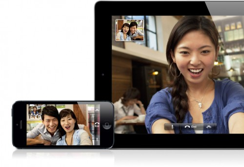 FaceTime может не работать на iOS 6