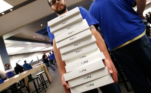 iPad плохо продается?