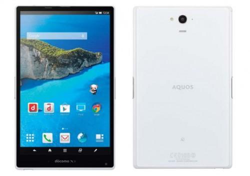 Sharp Aquos PAD (SH-06F) – водонепроницаемый планшет с поддержкой 4G LTE