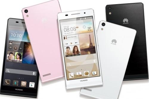 Huawei анонсировала смартфон Ascend P7 для селфи-съёмки