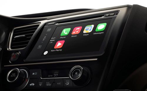 CarPlay появится в автомобилях Audi