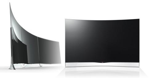 LG выпускает в продажу телевизор с изогнутым экраном