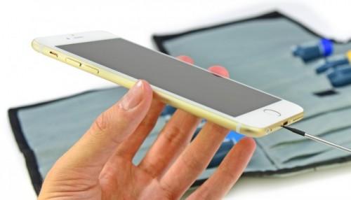 Специалисты iFixit добрались до нового iPhone 6 Plus
