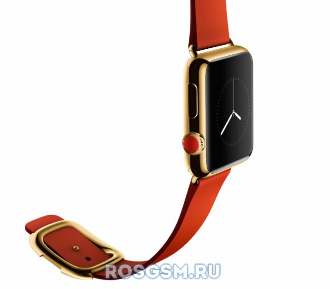 Левшам будет удобно с Apple Watch