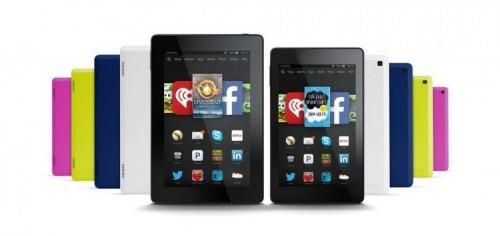 Amazon представила целую россыпь новых планшетов