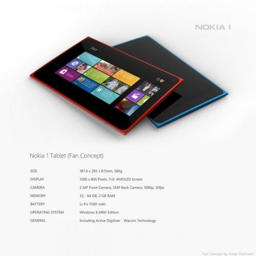 Nokia представила первый в своей истории планшетный компьютер