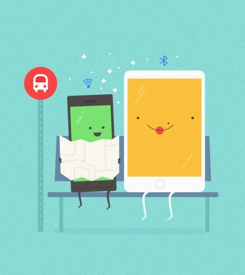 Google Copresence – бесконтактная передача данных с Android на iOS