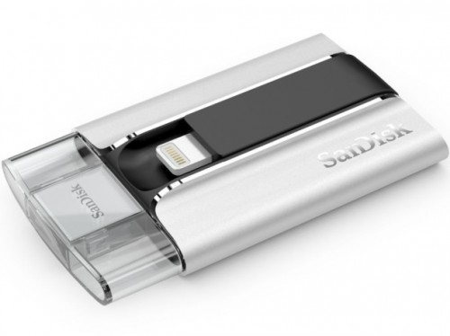 SanDisk выпустила флеш-накопитель для iPhone и iPad