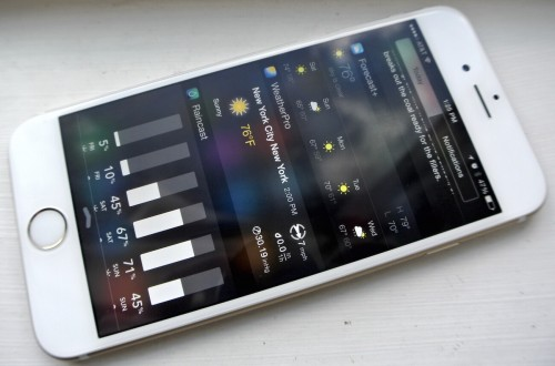 Apple смягчила требования к виджетам в iOS 8