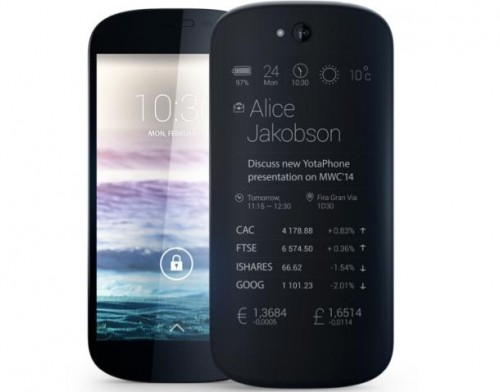 Сооснователю Apple подарят на Рождество YotaPhone 2