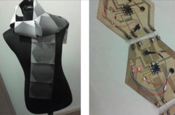 Microsoft анонсировала прототип «умного» шарфа
