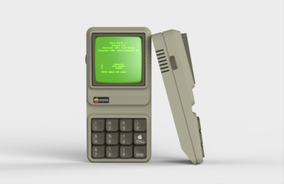 Как бы выглядел первый iPhone, если бы его выпустили 30 лет назад