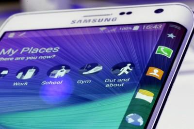 Samsung Galaxy S6 Edge получит дисплей, загнутый на обе боковые грани