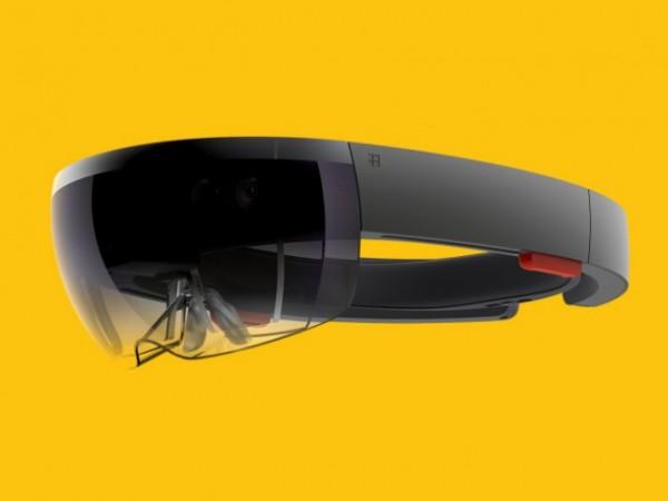 Microsoft представила голографические очки