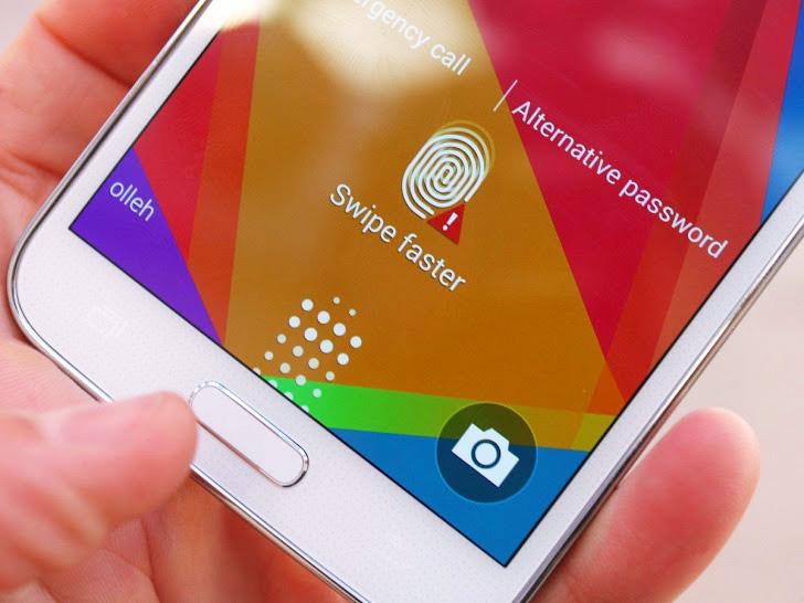 Samsung скопировала Touch ID для своего нового флагмана Galaxy S6