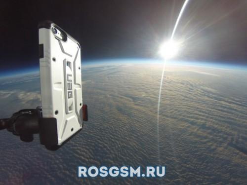 В США успешно состоялся первый космический запуск iPhone 6