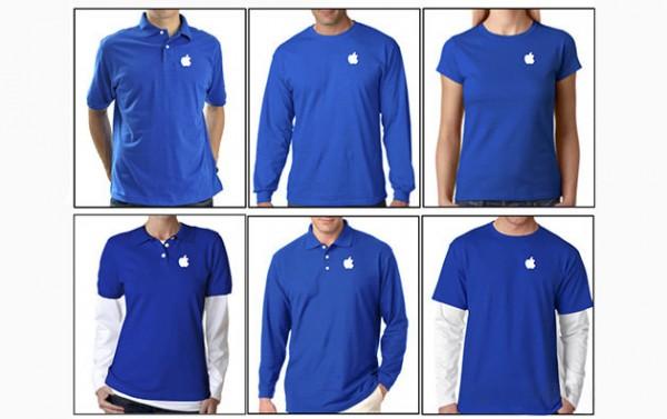 новая форма сотрудников Apple Store