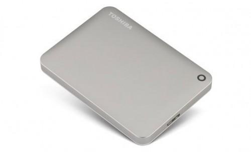 Toshiba представила 3-терабайтный портативный накопитель Canvio Connect II