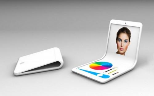 Apple получила патент на гибкий смартфон