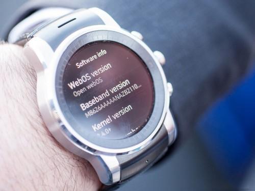 LG продемонстрировала смарт-часы под управлением webOS