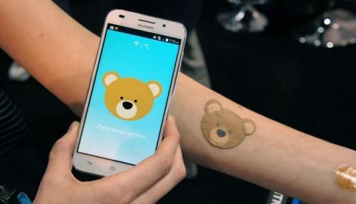 NFC-стикер поможет измерить температуру ребенка в форме игры