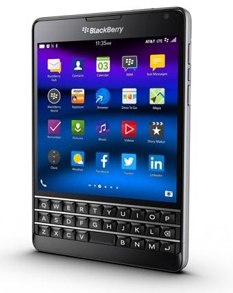 BlackBerry обновила дизайн Passport для AT&T