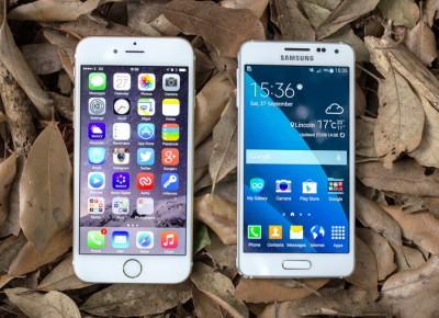 Apple догнала Samsung по количеству проданных смартфонов