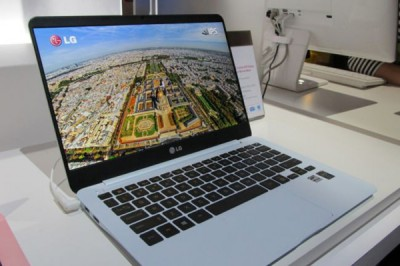 LG представила самый лёгкий 14-дюймовый ультрабук