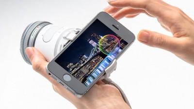 Olympus представила накладную камеру для смартфонов