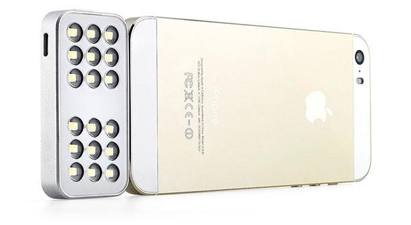 Apple запатентовала внешнюю вспышку для iPhone
