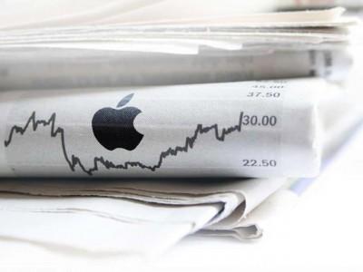 Акции Apple побили исторический рекорд