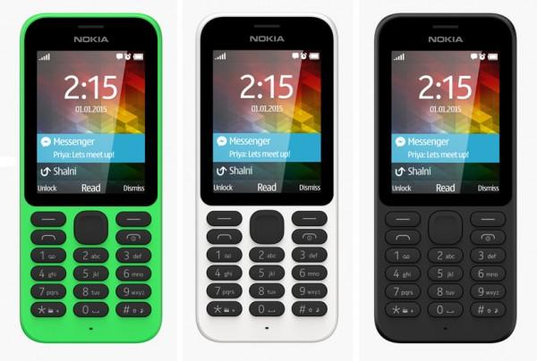 Доступный телефон Nokia 215 появился в продаже в России