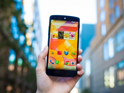 Nexus 5 вернулся в Google Play Store