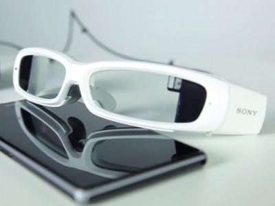 Sony SmartEyeglass прошли сертификацию в FCC